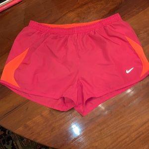 Nike Shorts Pink and Orange Shorts